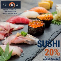 [The Sushi Bar Dining] Enjoy our September promo!