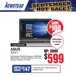 [Newstead Technologies] Are you a student looking new laptop?