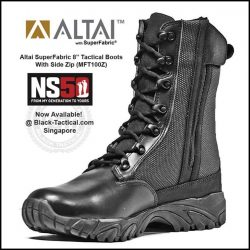 [Black-Tactical.com] All ALTAI Waterproof Assault Boots are back in stock!