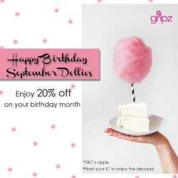 [Gripz] Happy Birthday September Dollies!