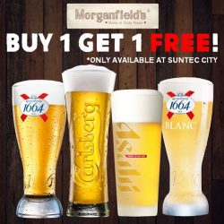 [Morganfield's] Happy hour doesn't get happier!