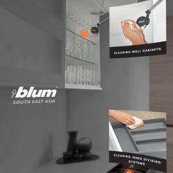 [Blum & Co] Care instructions for Blum products.