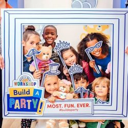 [Build-A-Bear Workshop] Your little one's birthday will be stress-free when you host their party at our Build-A-Bear Workshop