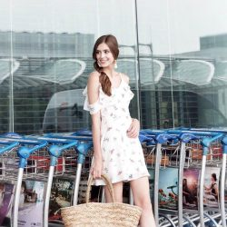 [MDSCollections] Summer-style essentials piece | Freesia Cami Dress in White, one of our best sellers