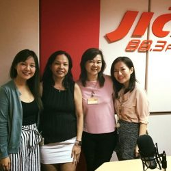 [Breast Cancer Foundation] It's a wrap today with Helen and Lily!