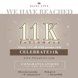 [Elisa Litz] Celebrate our achievement with us!