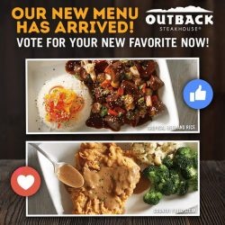 [Outback Steakhouse ] What's your new favorite?