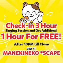 [Manekineko Karaoke Singapore] Don't say bo jio!