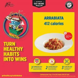 [PastaMania Singapore] Eat healthy, be rewarded!