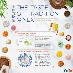 [NEX] Have a taste of tradition at NEX this Mid-Autumn!