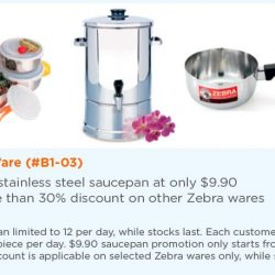 [Kitchen + Ware] Zebra sale is on!