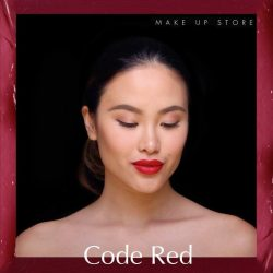 [MAKE UP STORE] Red is passion.