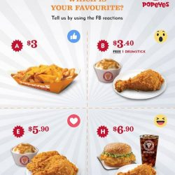 [Popeyes Louisiana Kitchen Singapore] Time to hear from our fans!