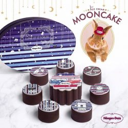 [Haagen-Dazs] What tastes yummier than 1 ice cream mooncake?