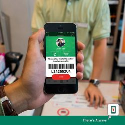 [7-Eleven Singapore] Present your barcode to the cashier after completing your purchase to collect a stamp for every $4 spent!
