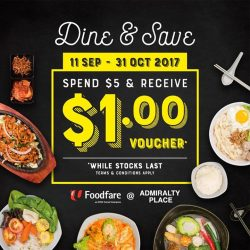 [Foodfare] Thanks to your support, all $1 vouchers have been fully redeemed!