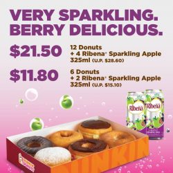 [Dunkin' Donuts Singapore] We're popping the bubbly with these combo deals!