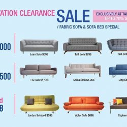 [Lifestorey] Lifestorey is having a Renovation Clearance Sale at  with over 100 great deals, up for