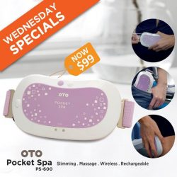 [OTO Bodycare] WEDNESDAY SPECIALS - OTO Pocket Spa at Only $99.