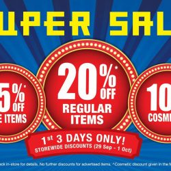 [BHG Singapore] Our SUPER SALE is back!