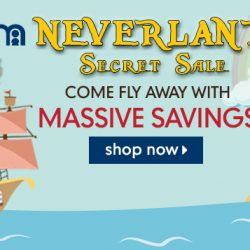 Mothercare: Online Exclusive Neverland Secret Sale with Up to 60% OFF Feeding Essentials, Toys, Strollers, Babycare Products & More!