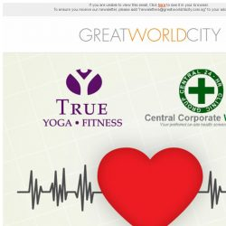 [Great World City]  Free Health Screening at True Fitness Great World City (17 October 2017)
