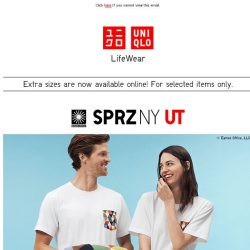 [UNIQLO Singapore] Inspired by icons of American Design.