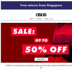 [ASOS] The up-to-50%-off sale just dropped