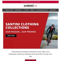 [probikekit] Santini Clothing Collections...