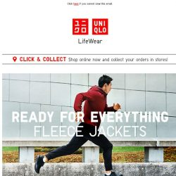 [UNIQLO Singapore] The best things in life are Fleece.
