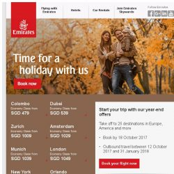 [Emirates] Don't miss our great year-end offers - fly from SGD 479