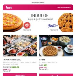 [Fave] Pizza Hut or Famous Amos - which one is your guilty pleasure?