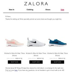 [Zalora] Are you still shopping for Sports Shoes?