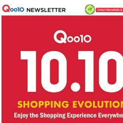 [Qoo10] Stand a chance to win an iPhone X and a $100 Qoo10 Gift Card from 8-15th October! Don't miss the Qoo10 10.10 Shopping Evolution!
