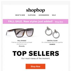 [Shopbop] The styles we can't keep in stock