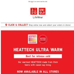 [UNIQLO Singapore] Your cheat sheet for winter travel.
