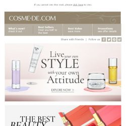 [COSME-DE.com] Live your own STYLE, with your own ATTITUDE