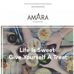 [Hotels.com] Life Is Sweet Give Yourself A Treat!