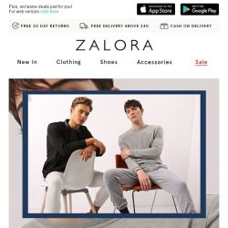 [Zalora] 💯 This sale deserves a 10/10: Buy 3 for 30% off!