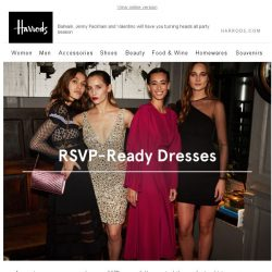 [Harrods] Party Perfect: The Dress Edit
