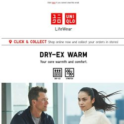 [UNIQLO Singapore] For your core warmth & comfort