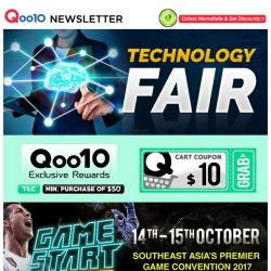 [Qoo10] Qoo10 Thursday Technology Fair! Armaggeddon Gaming Gear at Lowest Price! Grab Them All While Stocks Last!