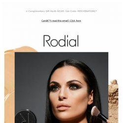 [RODIAL] Our Secrets To Flawless Glowing Skin