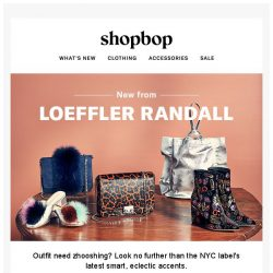 [Shopbop] Fall shoes & bags from Loeffler Randall