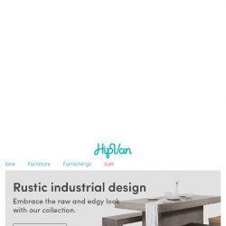 [HipVan] Rustic industrial lovers, this one's for you!😀