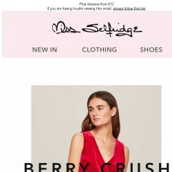 [Miss Selfridge] We're crushing on berries 🍒