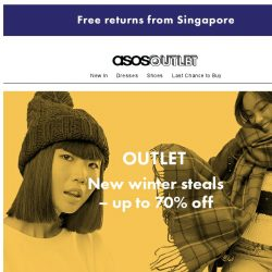 [ASOS] New winter buys: up to 70% off