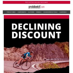 [probikekit] Declining Discount - Extra 16% off Site...
