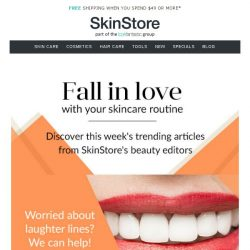 [SkinStore] Fall In Love With Your Skincare Routine