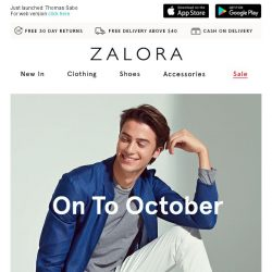 [Zalora] All NEW for you!
